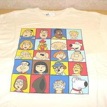 Family Guy Peter Griffin Lois Chris Meg Stewie Brian  2008 Shirt New Nwt Xxl 2x Photo