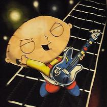 Family Guy Stewie Griffin Rock Star Rock Band T Shirt Size Xl Photo