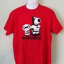 Family Guy Tv Show Brian the Dog & Stewie Griffin - Wingman T-Shirt  Size Xl Photo