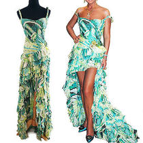 Famous Roberto Cavalli Flamenco Corset Dress Sz. L Photo
