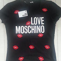 Famus Brand Name Tshirt I Love Moschino 2014 Hot Photo