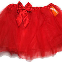 Fancy Dress Red Ballet Tutu Skirt One Size Fits All Bnwt Photo