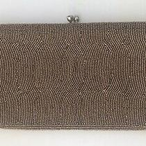 Fancy Gold Beaded Vintage Japan Clutch Bag Elegant Collectible 1960-1970s Shines Photo
