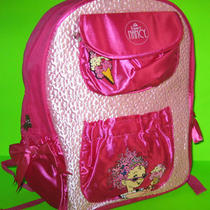 Fancy Nancy Backpack Pink School Book Bag Large 16