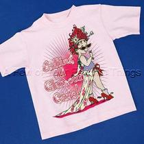 Fancy Nancy Pink Glamour Girls T Shirt Small Size 4 Top Childrens Clothing New Photo