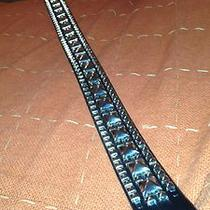 Fancy Shiny Leather Expensive Belt Photo