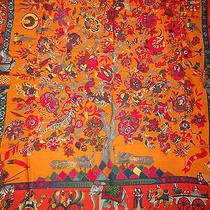 Fantaisies Indiennes Hermes Cashmere Shawl Photo