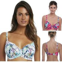 Fantasie Fiji Gathered Full Cup Bikini Top 6540 Womens Underwired Swimwear Photo
