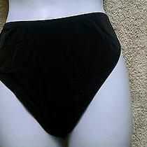 Fantasie of England 8530 Swim Bikini Bottom Size Uk Med/ Us Med or 8 Black Nwt Photo