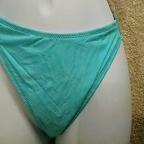 Fantasie of England 8600 Swim Bikini Bottom Size Uk Lrg/ Us Lrg Sz 10 Aqua Nwt Photo