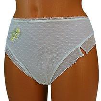 Fantasie Womens Thong Panties Lace White String Knickers Sheer Lingerie M Medium Photo