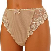 Fantasie Womens Thong Panties String Knickers Culotte Dentelle L Large Mariette Photo