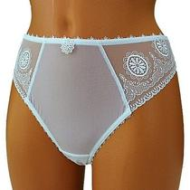 Fantasie Womens Thong White Lace Panties String Knickers Culotte Blanc L Large Photo