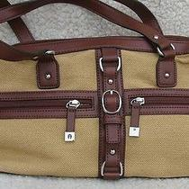 Fantastic Etienne Aigner Cloth Doctor Style Handbag Purse Satchel Photo