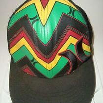Fantastic Hurley Logo  Rasta Trucker Driver Baseball Style Sports Cap Hat Photo