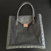 Fantastic Loeffler Randall Work Tote Natural Grey Leather/rose Gold Photo