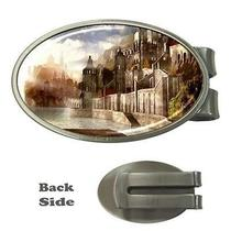 Fantasy Castles on Water Babylon City Money Clip Photo