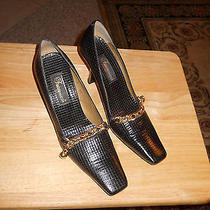 Fantasy Collection Genuine Leather Embossedens Classic Pumps Photo