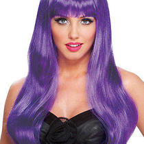 Fantasy Diva Purple Wig Photo