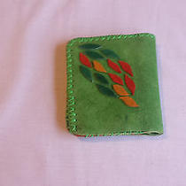 Fantasy Green Leather Wallet  Photo
