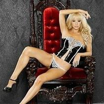 Fantasy Lingerie Bridal Corset With G-String Set Photo