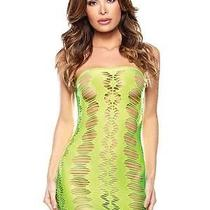 Fantasy Lingerie Green Diamond Cutout Dress Photo