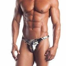 Fantasy Lingerie Mens Camo Thong W/ Mesh Photo