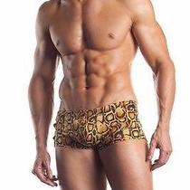 Fantasy Lingerie Mens Leopard Print Shorts W/ Snaps Photo