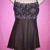 Fantasy Lingerie Sexy Lace & Chiffon Babydoll & G-String Set Photo