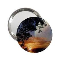 Fantasy Other World Sunset Mirror for Handbag Purse Desk Backpack Bag Photo