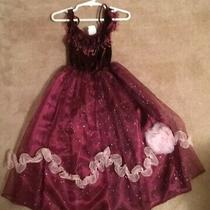 Fantasy Playclothes - Gown - Costume - Girls 3 - Dress Up- Burgundy Photo