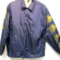 Far Eastern Enthusiast Coach Jacket Dark Blue Men's Jacket Q0455 Photo