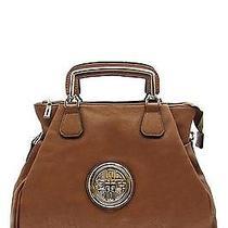 Fashion Accessories Trendy Bag Round Symbol Tote Camel Brown Photo