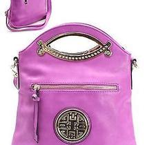 Fashion Accessories Trendy Handbag Purse Bag Shoulder Purple - T1153 Photo