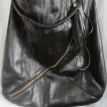 Fashion Express Designer Large/black/hip Bohemian Hobo Bag-18 Photo