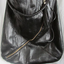 Fashion Express Designer Large/black/hip Bohemian Hobo Bag-18 Photo