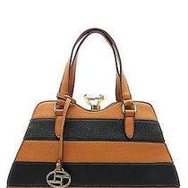Fashion Handbag Purse Bag Trendy Diamond Satchel Shoulder Brown - T0735st Photo