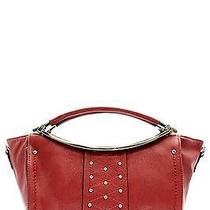Fashion Handbag Purse Bag Trendy Stylish Designer Tote Red - T337 Photo