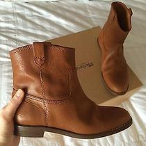 Fashion - Madewell Otis Boot - Soft Mahogany - Leather - 6.5 Photo