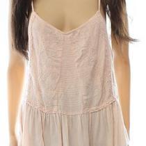 Fashion on Earth New Blush Pink Lace Size Medium M Junior Knit Top 36 654 Photo