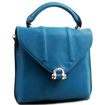 Fashion Trendy Accessories Crossbody Bag Purse Teal Green Photo