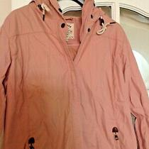 Fat Face Shower Proof Lightweight Jacket - in a Blush Pink Colour - Size 12 Photo