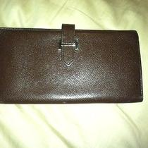 Faux Hermes Wallet Brown Photo