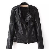 Faux Leather Vogue Motorcycle Jacket Photo