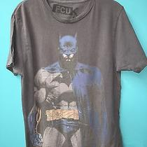 Fcuk Batman T Shirt Gray Size Medium French Connection Marvel Superhero Tee Photo