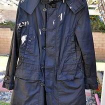 Fcuk French Connection Black Coat Jacket  Size M Photo