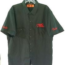 Fender Guitar Center Embroidered Dickies Utility Uniform Mens 2xl Photo