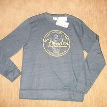 Fender Guitars Lucky Brand Pullover Sweatshirt Mens Size Large  New Wtags Photo