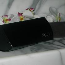 Fendi  100% Authentic Logo Black Sunglasses Case and Cloth-Brand New Photo