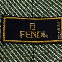 Fendi 100% Pure Silk Tie Hand Made in Italy Very Rare Photo